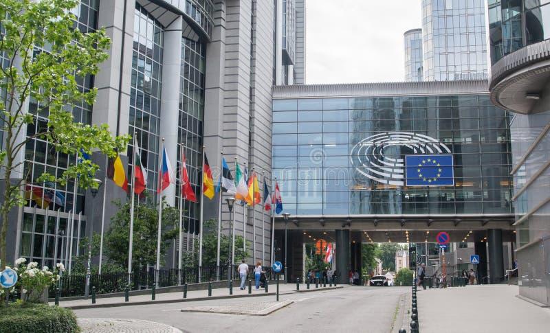 欧洲议会大厦 免版税库存图片