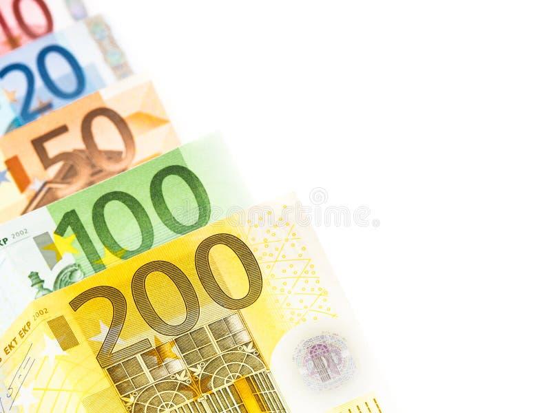 欧洲金钱摘要 免版税库存图片