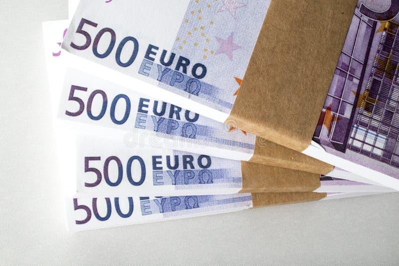欧洲金钱胜利 免版税图库摄影