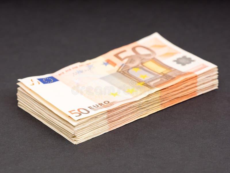 欧洲金钱藏匿处 免版税库存图片