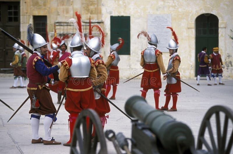 欧洲马耳他瓦莱塔 免版税库存图片