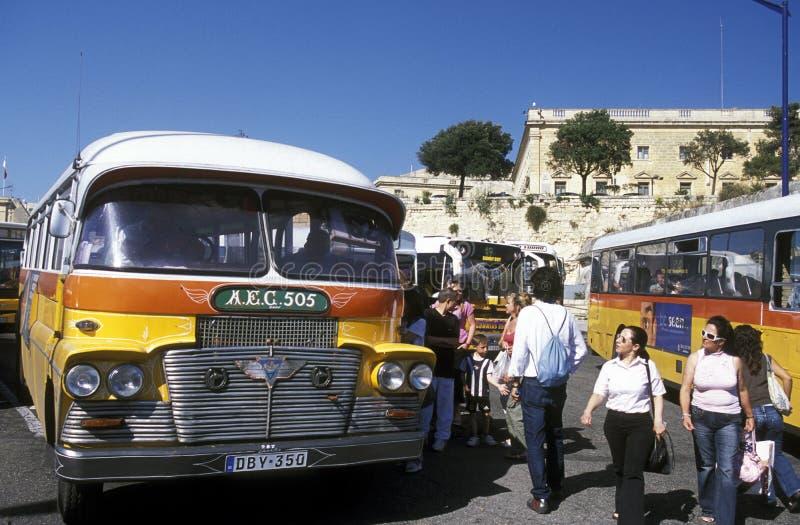欧洲马耳他瓦莱塔 免版税库存照片