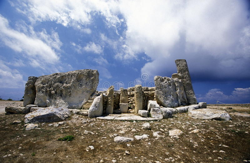 欧洲马耳他 库存图片