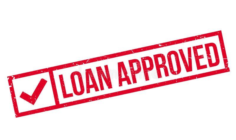 贷款批准的不加考虑表赞同的人 图库摄影