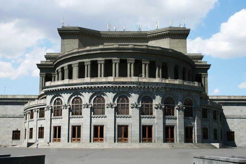 歌剧剧院耶烈万 库存图片