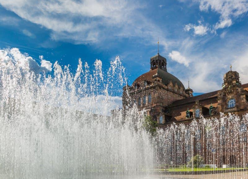 歌剧院圆顶纽伦堡,德国 免版税库存照片
