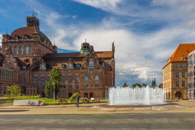 歌剧院纽伦堡,德国 免版税库存图片