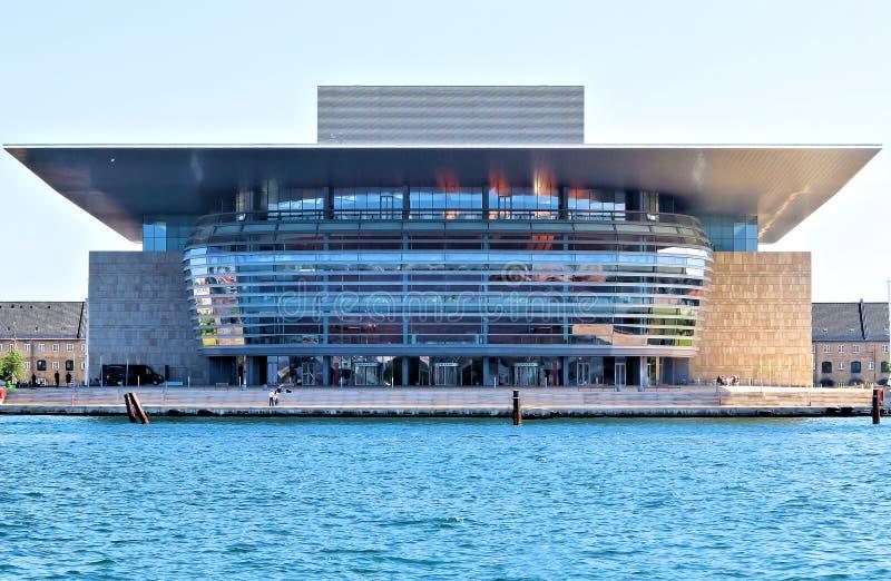 歌剧院,哥本哈根 免版税库存照片