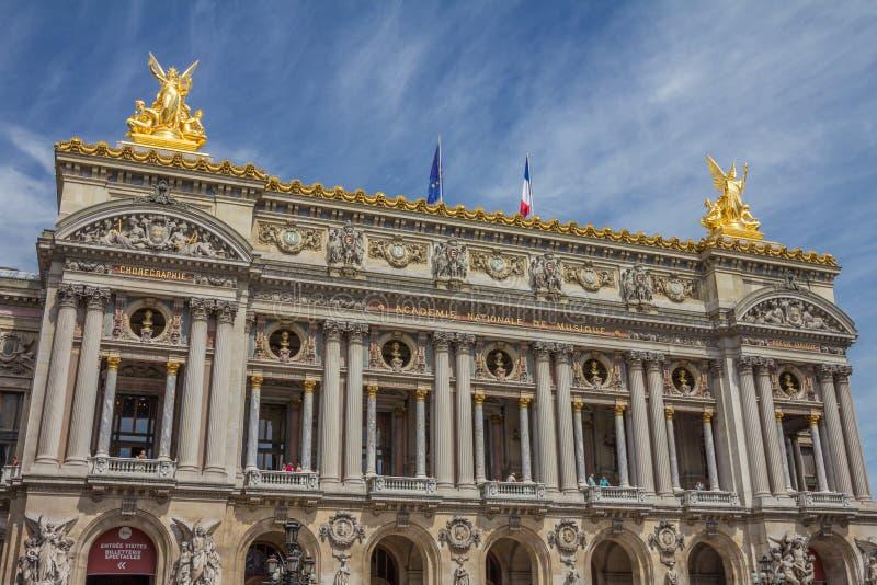 巴黎歌剧 图库摄影