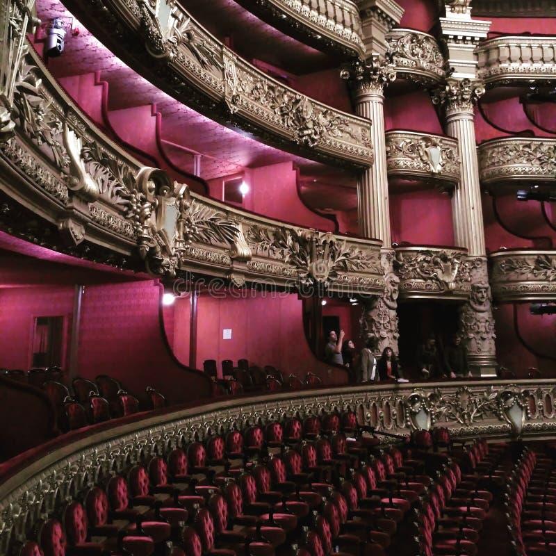巴黎歌剧garnier欧洲旅行发现 库存图片