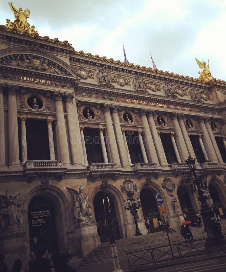 巴黎歌剧garnier欧洲旅行发现 免版税库存照片