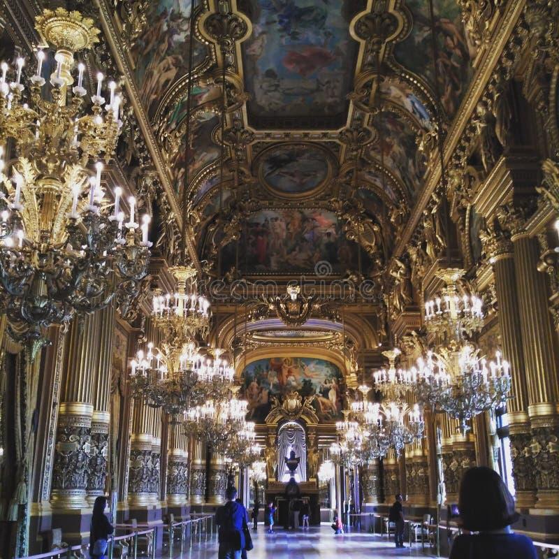 巴黎歌剧garnier欧洲旅行发现 库存照片