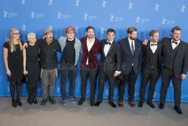`歌曲作者`在第68个Berlinale节日期间的照片电话2018年 免版税库存图片