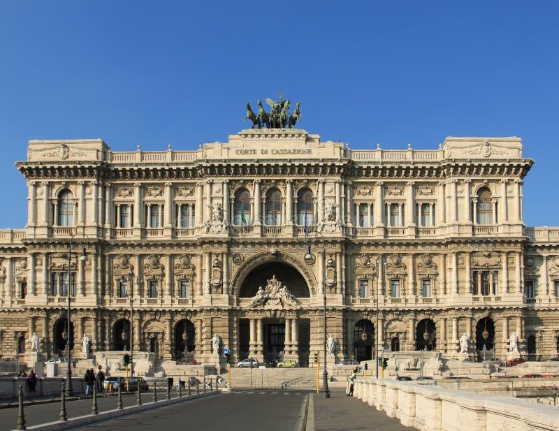 正义宫殿罗马 免版税库存图片