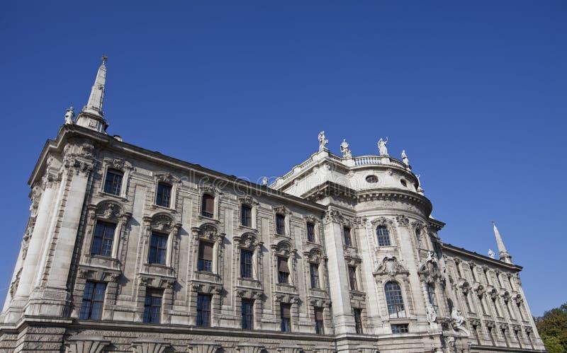 正义慕尼黑宫殿 免版税库存图片