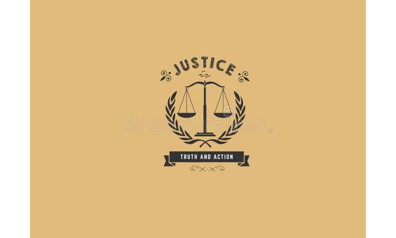 正义真相和行动律师不加考虑表赞同的人 库存例证