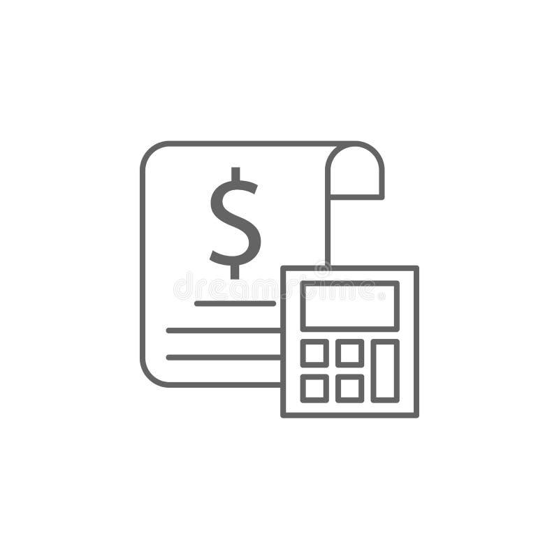 正义税概述象 法律例证线象的元素 标志、标志和传染媒介可以为网,商标,机动性使用 皇族释放例证