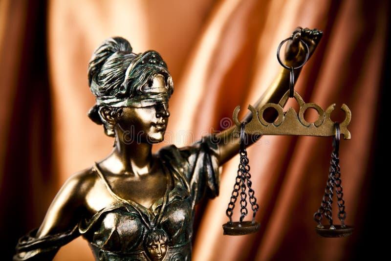 正义缩放比例 免版税图库摄影