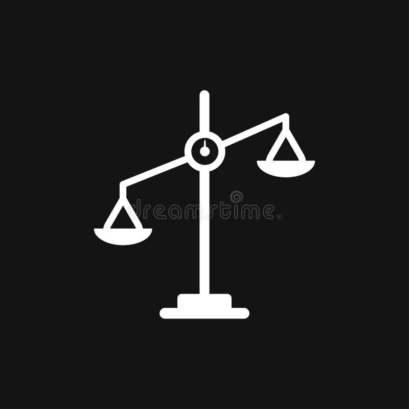 正义象商标,例证,传染媒介设计的标志标志标度  向量例证