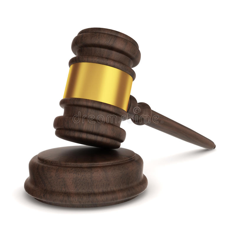正义锤子 皇族释放例证