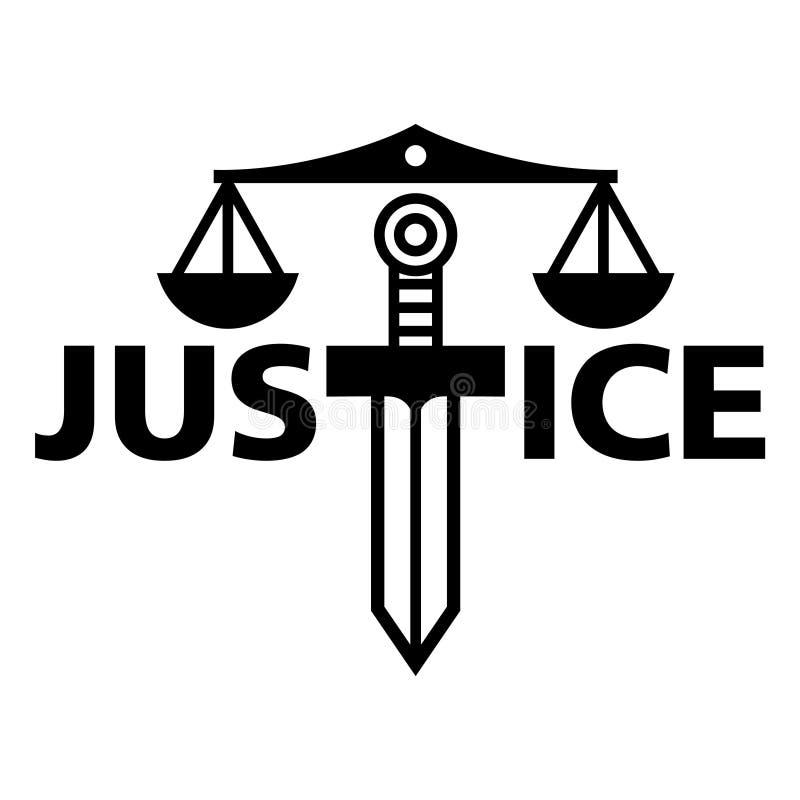 正义 向量例证