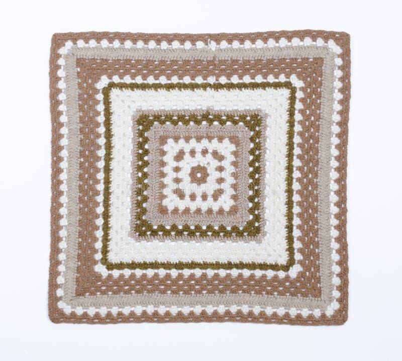 被编织的地毯 库存图片