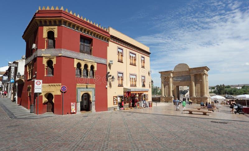 正方形在科多巴,西班牙 免版税库存照片
