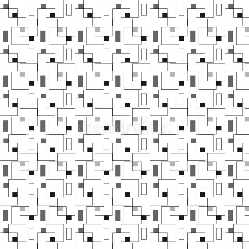 正方形仿造无缝 向量例证