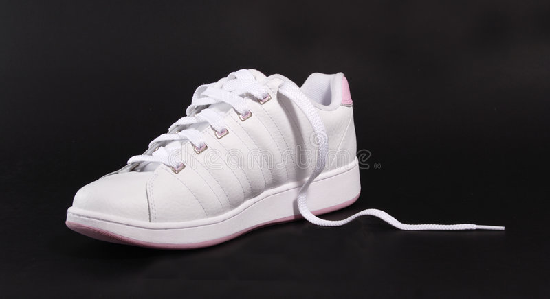 正确的鞋子 免版税库存图片