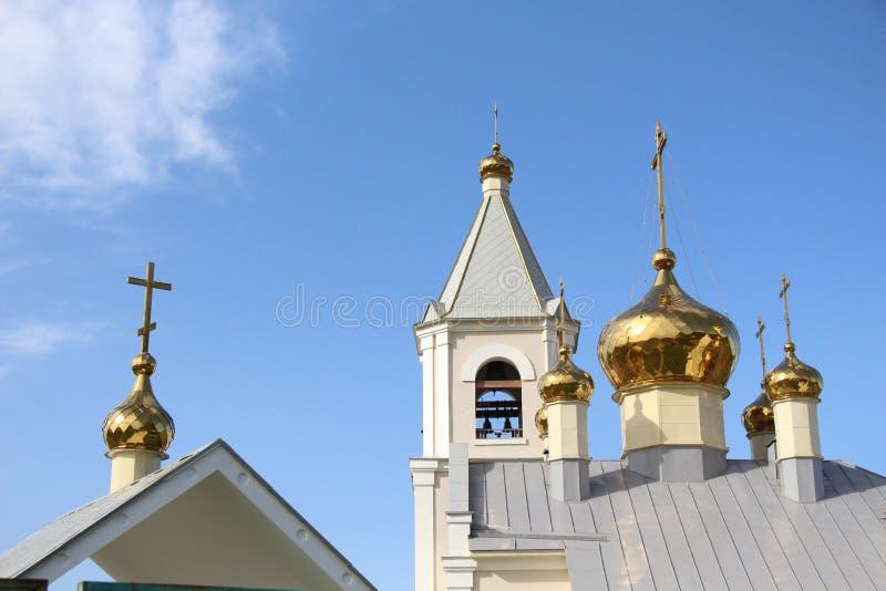 正统修道院/风景以教会为目的/ 库存照片