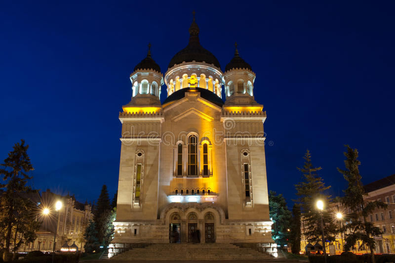 正统大教堂,科鲁Napoca 免版税库存图片