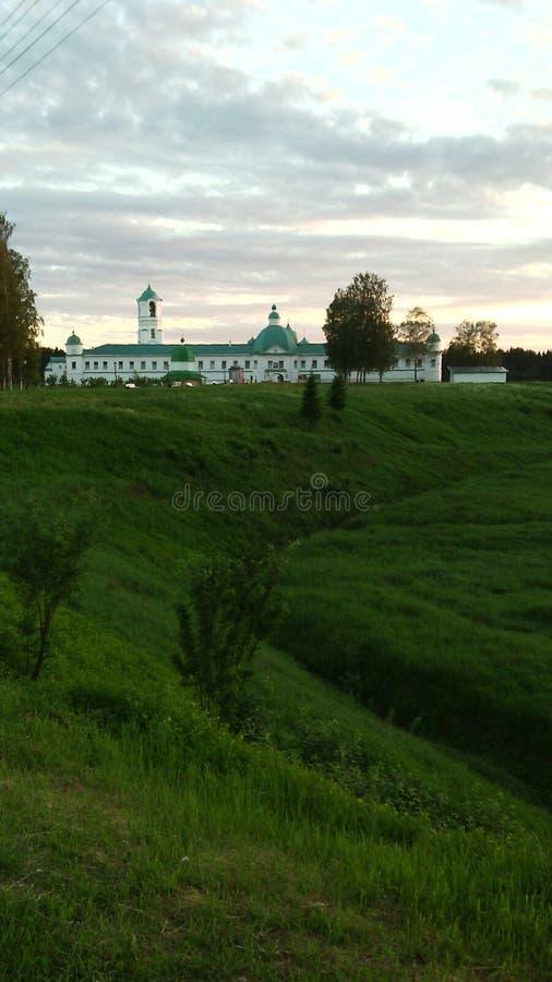 正统修道院在俄罗斯 免版税库存照片