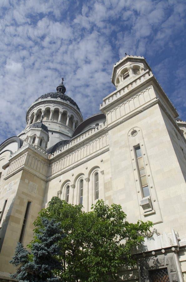 正统大教堂,科鲁Napoca,罗马尼亚 免版税库存图片