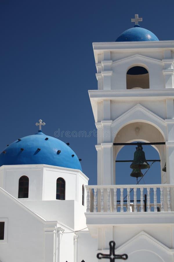 正统希腊大教堂 图库摄影