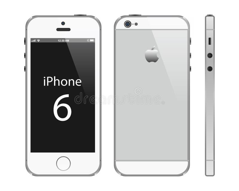 正Iphone 6 库存例证