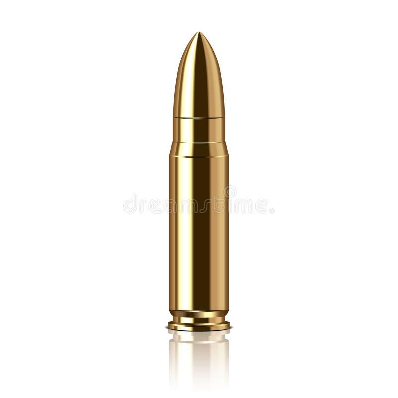 步枪子弹传染媒介例证 库存例证