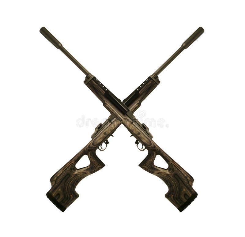 步枪符号 库存例证