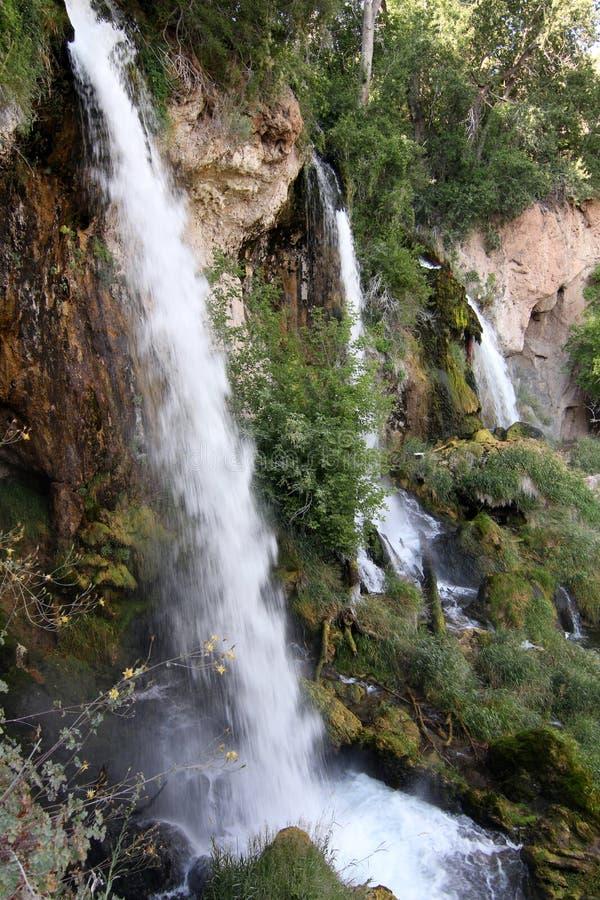步枪落国家公园,科罗拉多 图库摄影