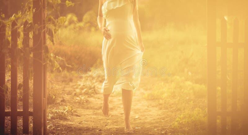 步母性 图库摄影