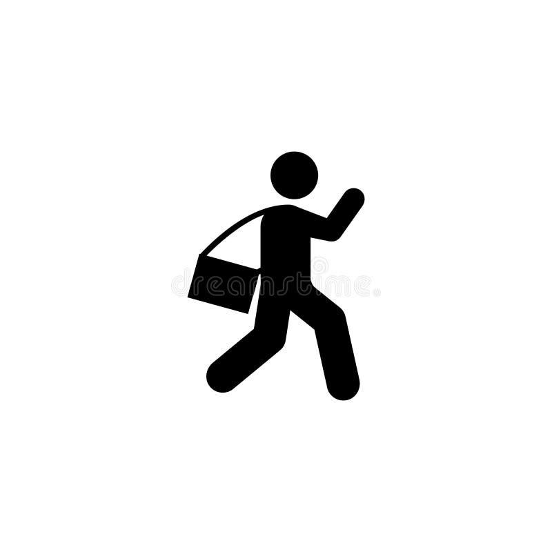 步行学生学校象 回到学校例证象的元素 标志和标志汇集象网站的,网络设计, 向量例证