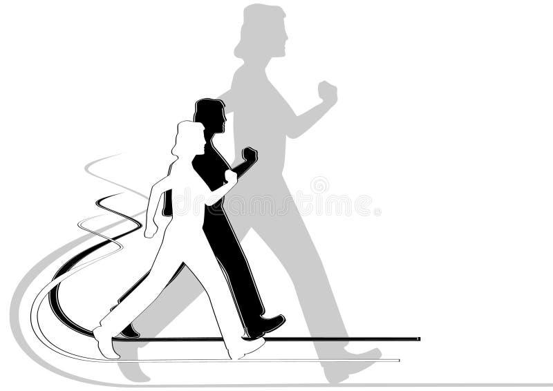 Download 步行术 向量例证. 插画 包括有 运动员, 方向, 图象, 灰色, 健康, 移动, 人们, 图画, 跟踪 - 22357276