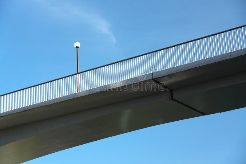 步行桥在多摩市市,东京 免版税库存图片