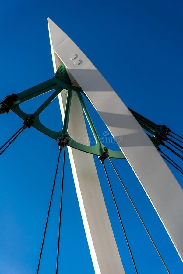 步行桥 库存照片