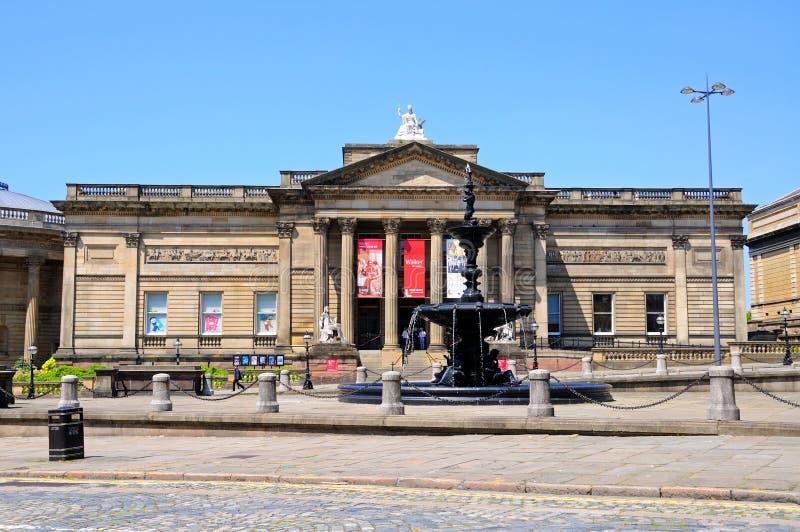 步行者美术画廊,利物浦 免版税库存照片