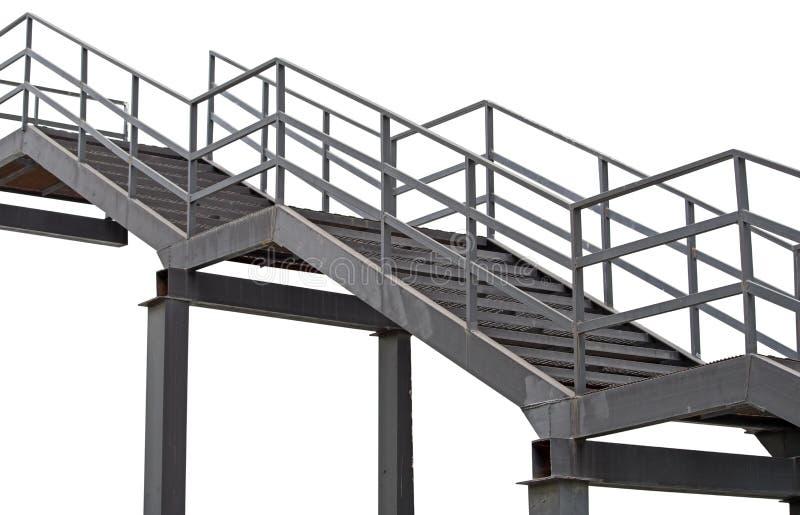 步金属梯子 向量例证