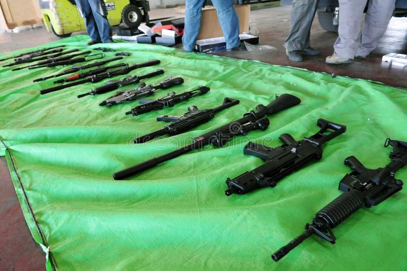 武器交易 免版税图库摄影