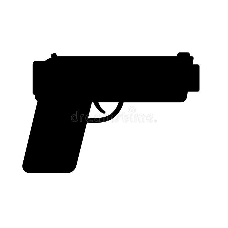 ?? 武器标志例证 军事设备例证商标模板 库存例证