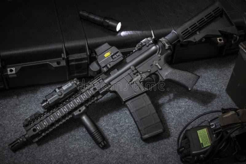 武器攻击步枪 库存图片