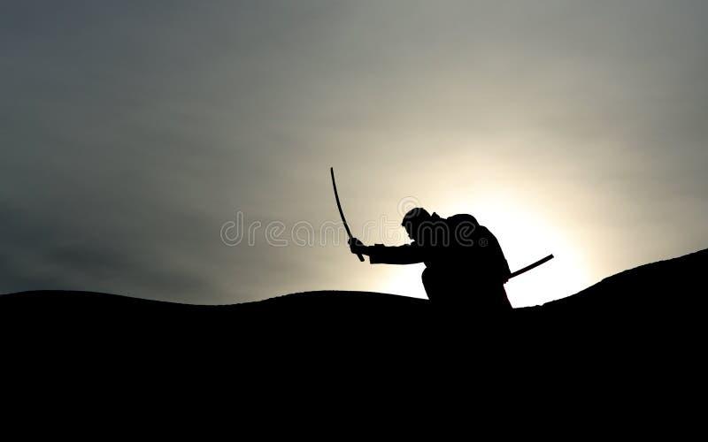 武士 免版税图库摄影