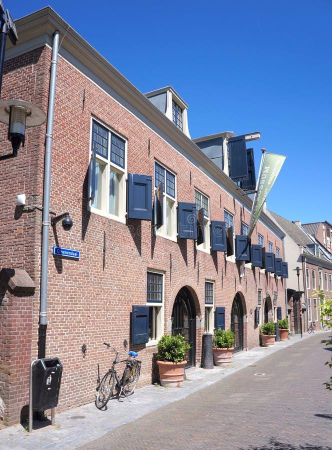 武尔登市中心,乌得勒支省,荷兰 库存图片